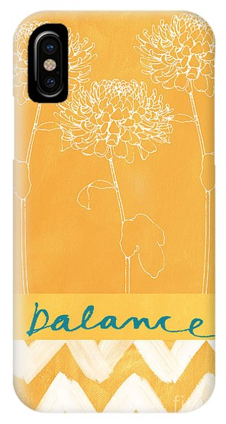 Cute iPhone Case - Balance by Linda Woods
