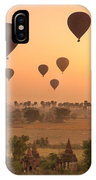 Balloons Sky IPhone Case