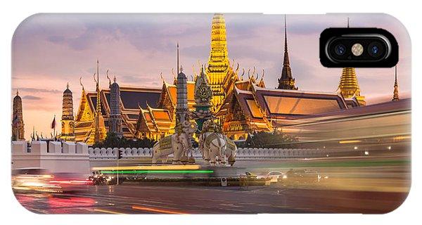 Bangkok Wat Phra Keaw IPhone Case