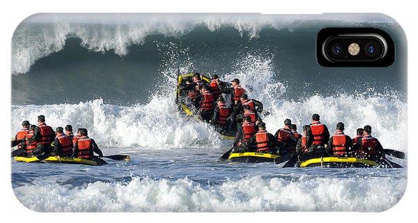 Coronado iPhone Case - Basic Underwater Demolitionseal by Stocktrek Images