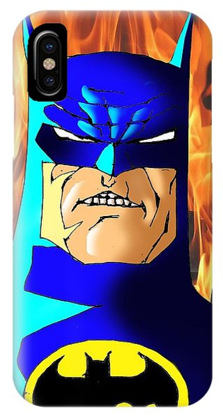 Ben Affleck iPhone Case - Old Batman by Salman Ravish