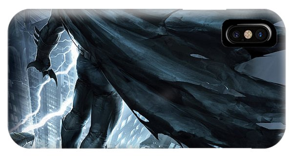 Knight iPhone Case - Batman The Dark Knight Returns 2012 by Geek N Rock