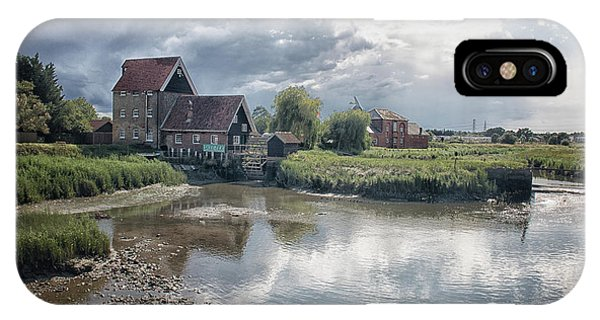 English Countryside iPhone Case - Battlesbridge by Martin Newman