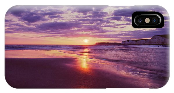 IPhone Case featuring the photograph Beach Sunset by Will Gudgeon