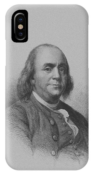 Inventor iPhone Case - Benjamin Franklin by War Is Hell Store