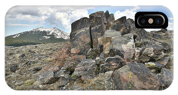 Big Horn Pass In Wyoming IPhone Case