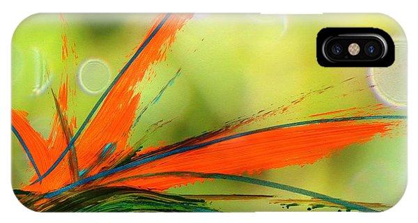 Bird Of Paradise 2 IPhone Case