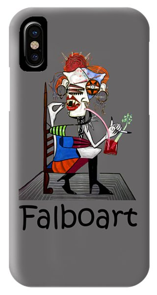Bloody Mary iPhone Case - Bloody Mary Let The Dead Bury The Dead by Anthony Falbo