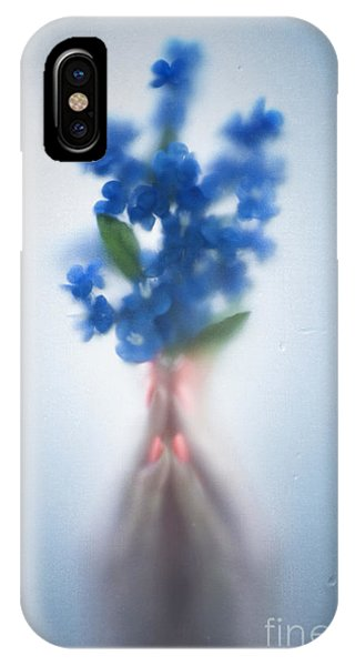 Close Up Floral iPhone Case - Blue Dream by Svetlana Sewell