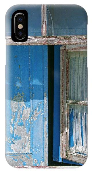 Blue Window IPhone Case