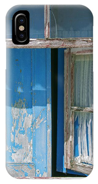 Blue Window IPhone Case
