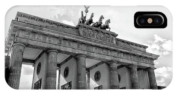 Brandenburg Gate - Berlin IPhone Case
