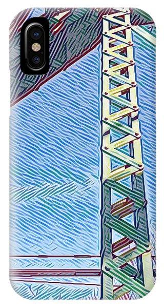 Bridge At Guerneville IPhone Case