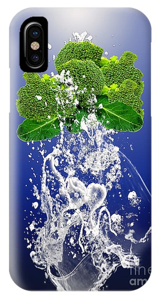 Broccoli Splash IPhone Case