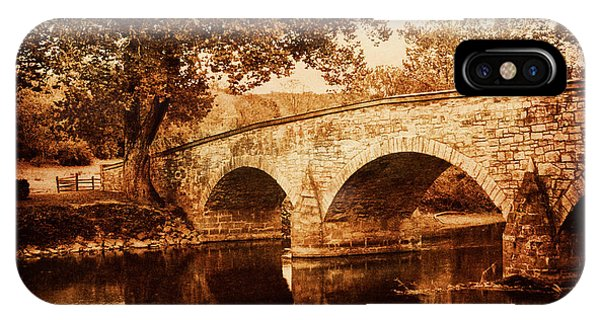 Burnside Bridge IPhone Case