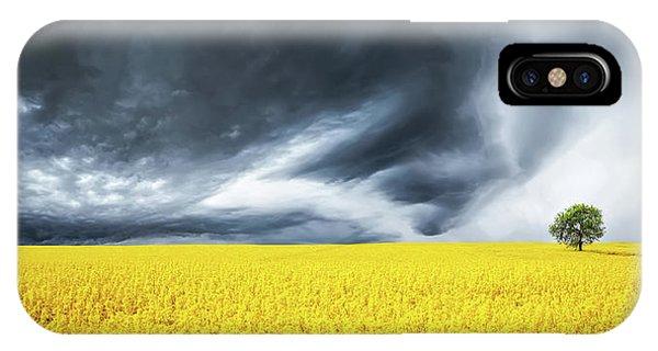 Canola Field IPhone Case