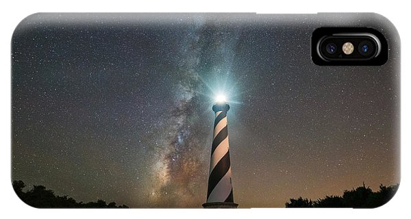 Cape Hatteras Lighthouse Milky Way IPhone Case