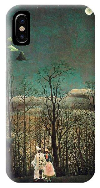 Barren iPhone Case - Carnival Evening by Henri Rousseau