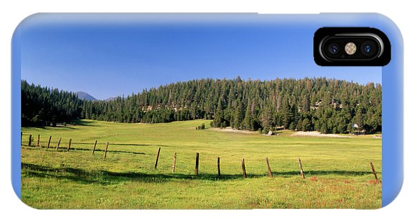 Casa Vieja Meadow - Golden Trout Wilderness IPhone Case