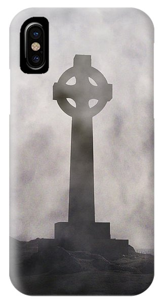 Celtics iPhone Case - Celtic Cross by Joana Kruse