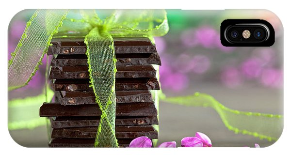 Tasty iPhone Case - Chocolate by Nailia Schwarz