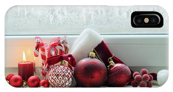 Christmas Windowsill IPhone Case