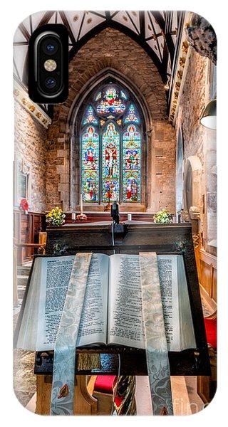 Poppies iPhone Case - Church Interior by Adrian Evans