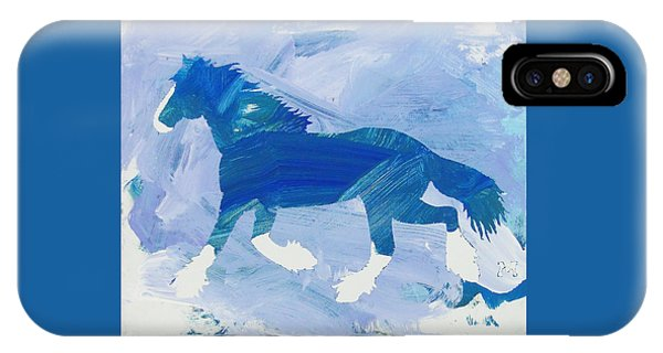 Clydesdale Dreams IPhone Case