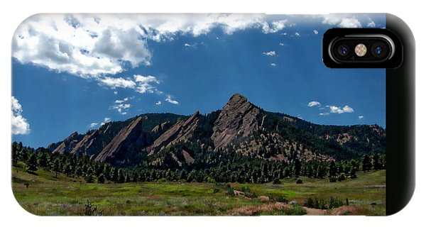 Colorado Landscape IPhone Case
