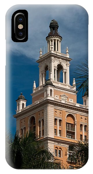 Coral Gables Biltmore Hotel Tower IPhone Case