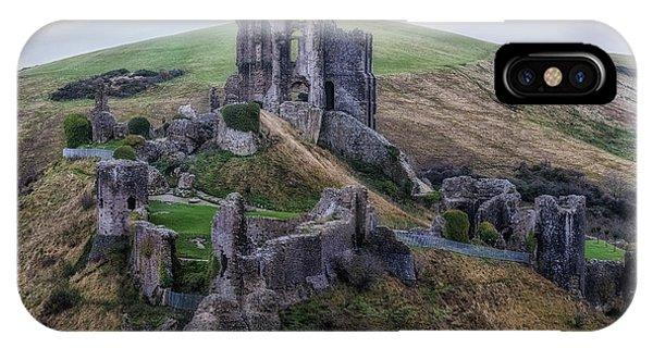 Dorset iPhone Case - Corfe Castle - England by Joana Kruse