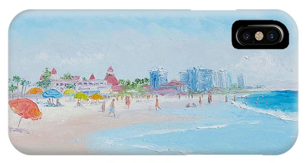 Coronado iPhone Case - Coronado Beach - San Diego by Jan Matson