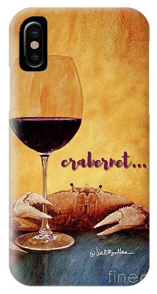 Crabernet... IPhone Case