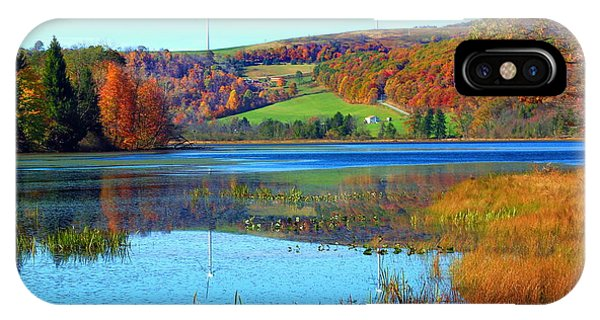 Cranberry Glade Lake Phone Case by Tammy  McGogney