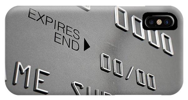Credit Card Closeup Phone Case by Allan Swart