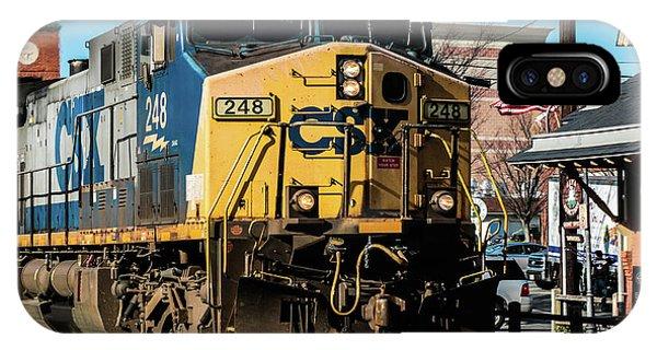 Csx Engine Gaithersburg Maryland IPhone Case