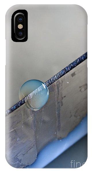 Cutting A Drop IPhone Case