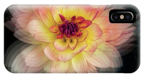 IPhone Case featuring the photograph Dahlia 'keith H.' by Ann Jacobson