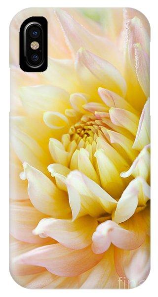 Soft iPhone Case - Dahlia by Nailia Schwarz