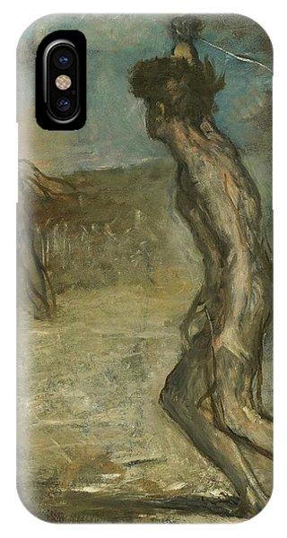 David And Goliath IPhone Case