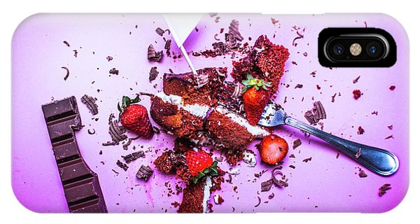 Cake iPhone Case - Death By Chocolate by Jorgo Photography - Wall Art Gallery