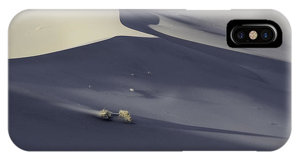 Death Valley Sand Dune At Sunset IPhone Case