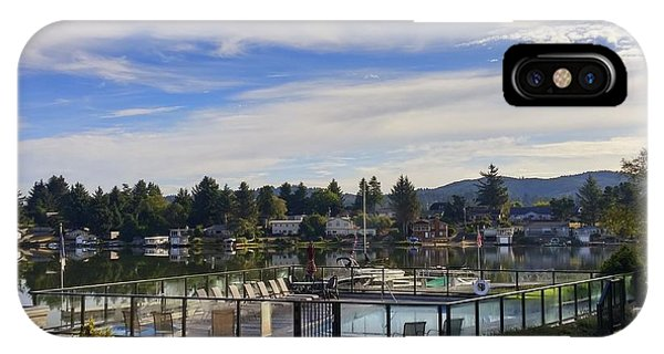Devils Lake Oregon IPhone Case