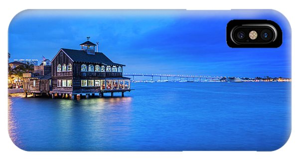 IPhone Case featuring the photograph Dinner On The Bay by Dan McGeorge
