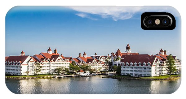 Disney's Grand Floridian Resort And Spa IPhone Case
