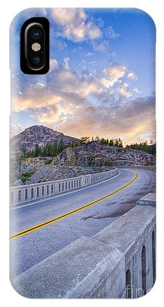 Donner Memorial Bridge IPhone Case