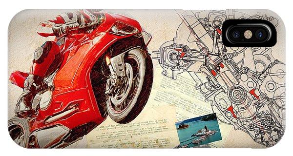 Ducati Panigale Iphone Cases Fine Art America