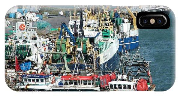 Dunmore East iPhone Case - Dunmore East Harbour by Joe Cashin