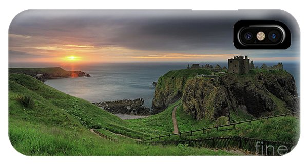 Dunnottar Castle At Sunrise IPhone Case