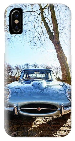 E Type Jaguar IPhone Case